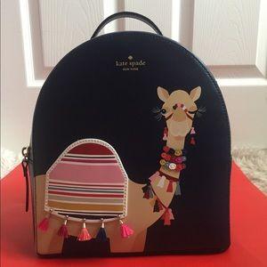 Kate Spade Camel Backpack